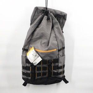 NWT California outdoor USA Backpack grey 15 x 23